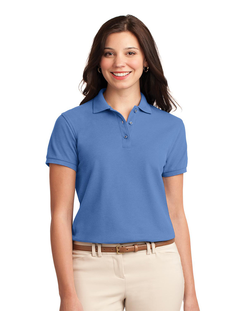 womens polo shirts port authority womenu0027s silk touch pique polo lmsumkc