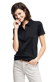 womens polo shirts womenu0027s pima polo shirt hzjojyz
