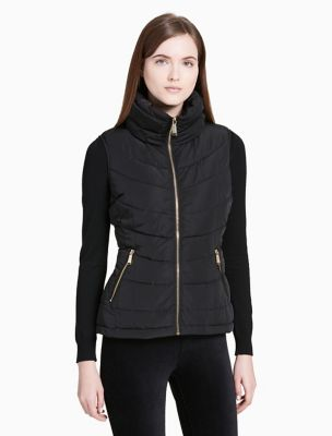 womens puffer vest calvin-klein-womens-seamed-puffer-vest-jacket jfemtnw