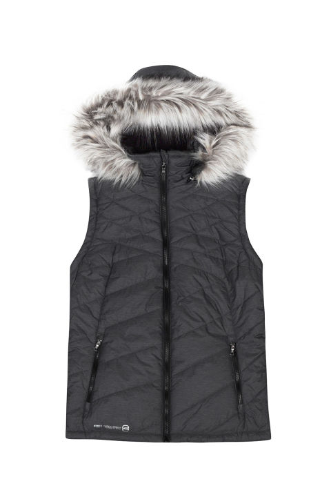 womens puffer vest free country womenu0027s airy puffer vest weyjhwy