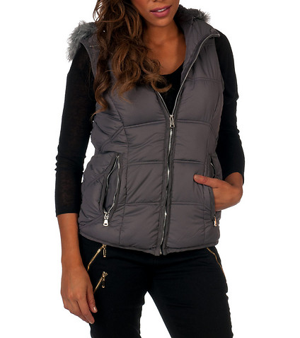 Looking good in a womens puffer vests