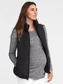 womens puffer vest outerwear | old navy® obedlzf