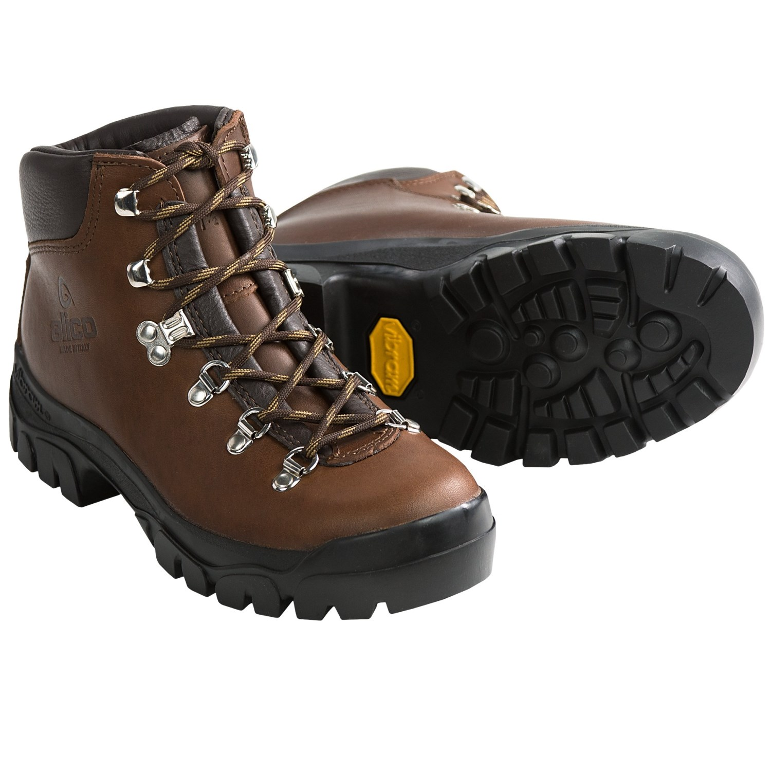 womens walking boots alico backcountry hiking boots - leather (for women) in brown khpgfzv