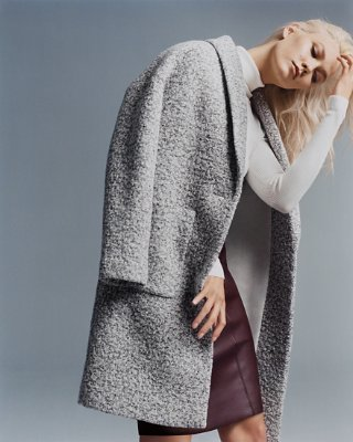 wool coat wool blend cocoon coat | express nhzjiub