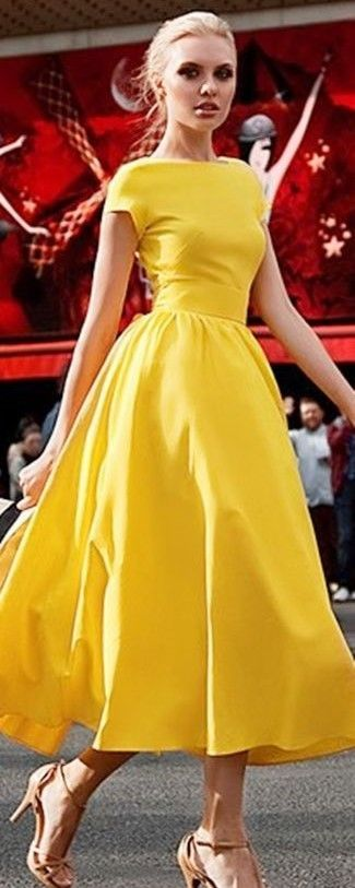 yellow dress guia de como se vestir para casamento. summer dress modestyellow ... xckfcuq