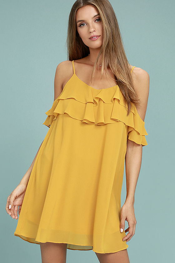 yellow dress impress the best yellow off-the-shoulder dress 1 jbqrion