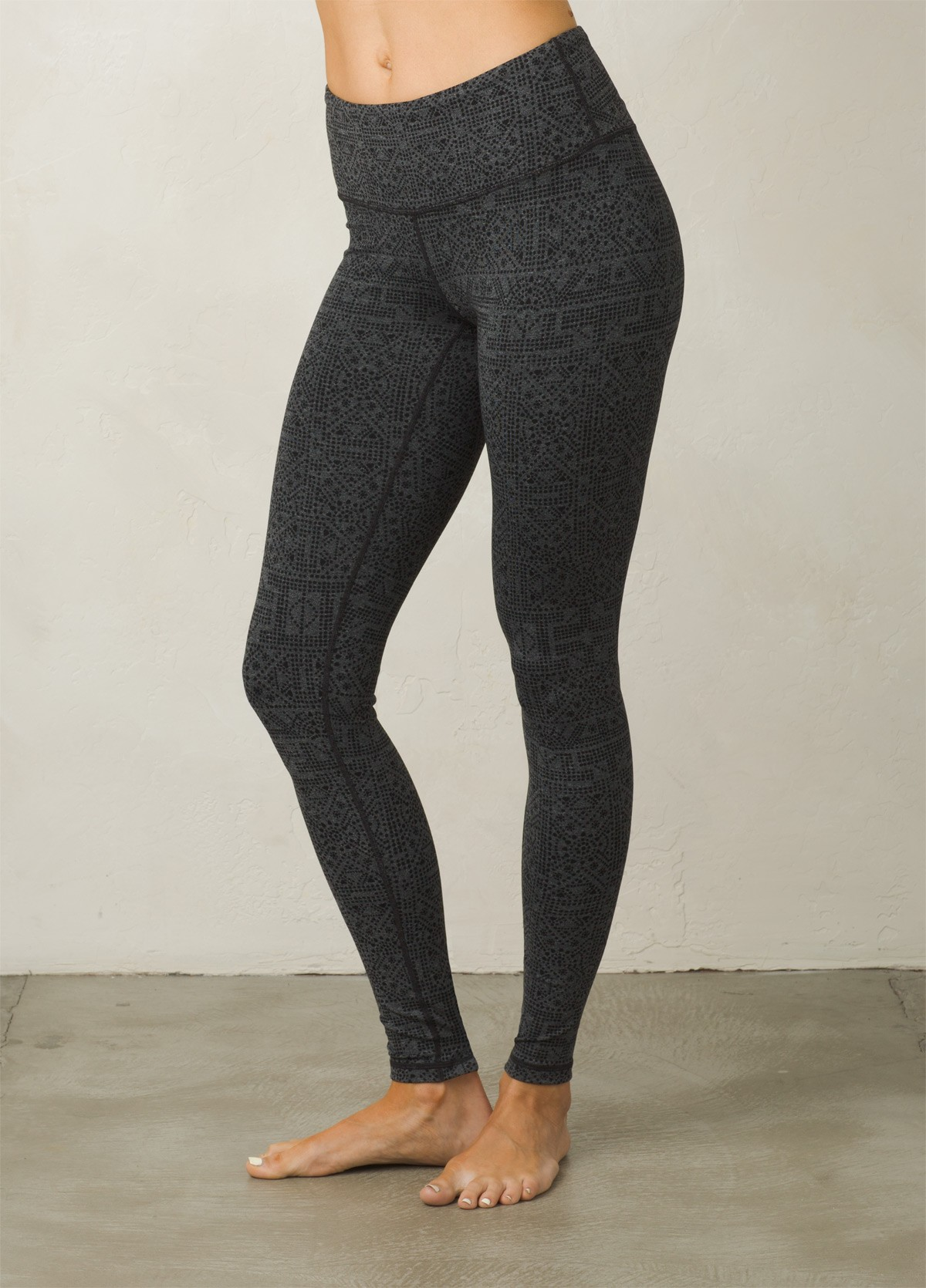 yoga wear charcoal heather mosaic pillar legging | women u003e bottoms u003e yoga pants ... lxswvst
