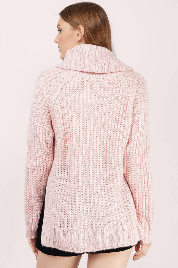 ... burrow up blush knitted sweater ... hexiqbe