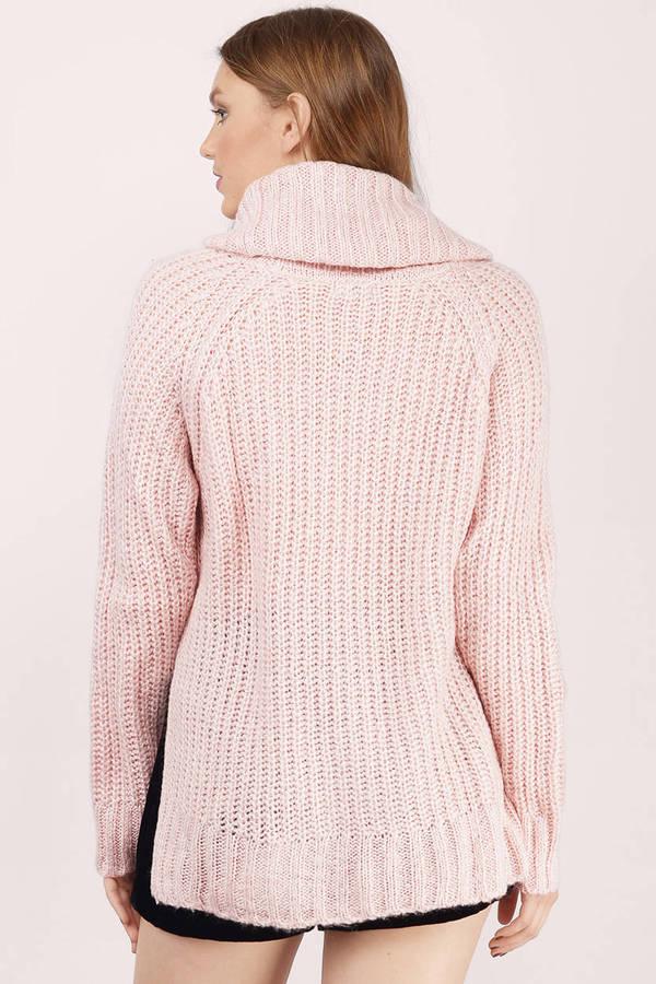 ... burrow up blush knitted sweater ... hexiqbe