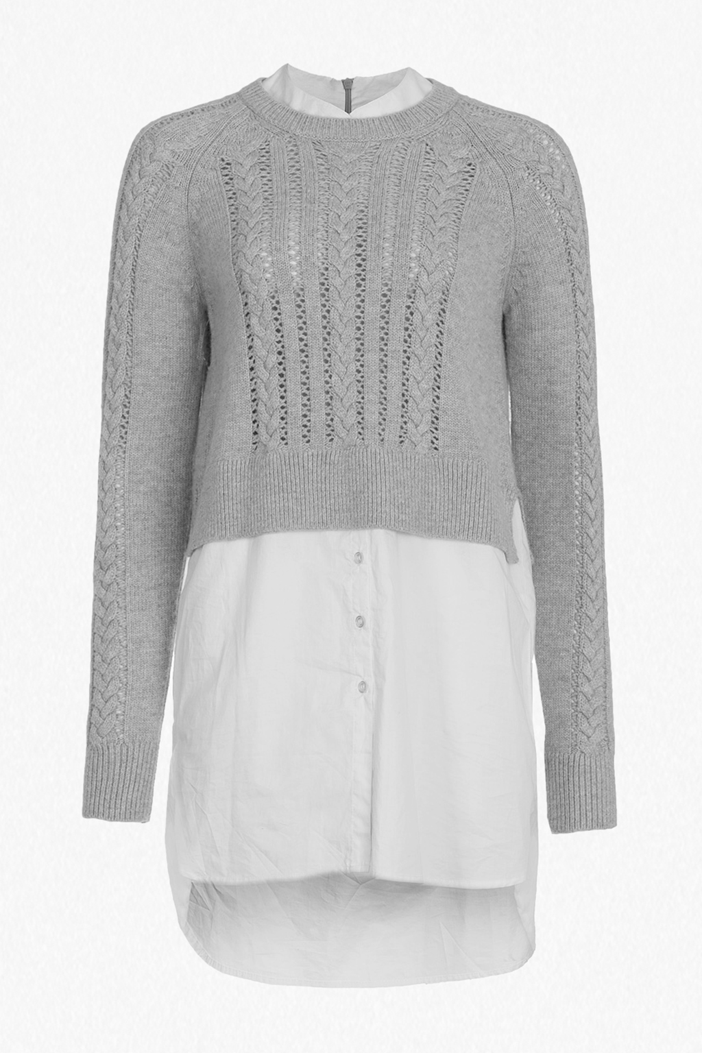 ... crochet cable knit jumper shirt. loading images. ktktakp