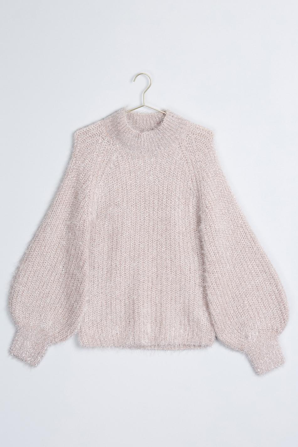 ... gabriella knitted sweater pink ljfswab