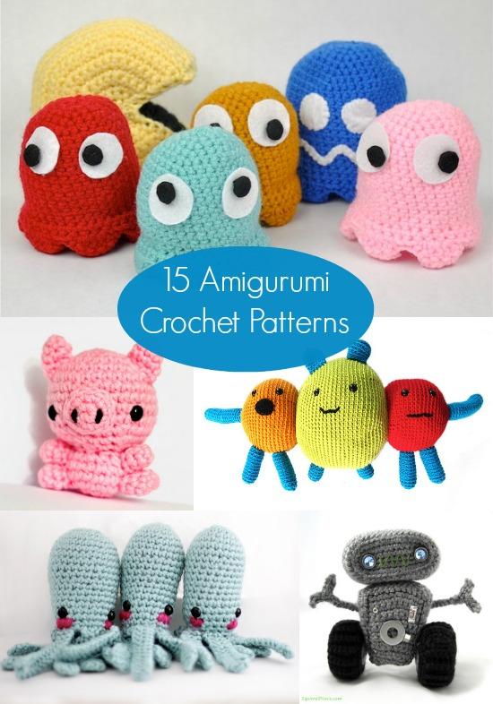 15 free amigurumi patterns to crochet udtxnbh