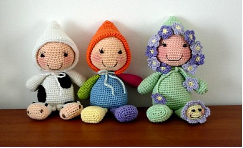 15 free #crochet doll patterns - on moogly! fdnlbpe