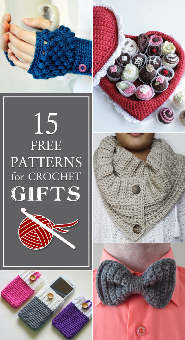 15 free patterns for crochet gifts dqbvokc