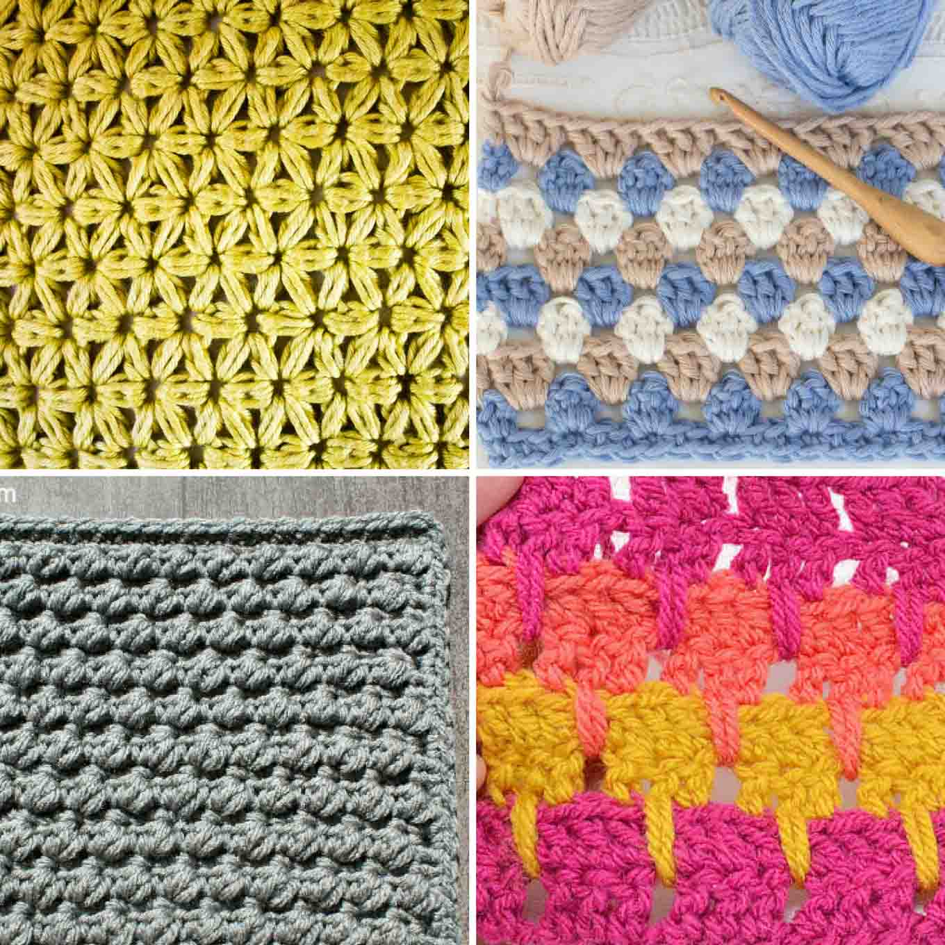 25+ crochet stitches for blankets and afghans - make u0026 do crew znmcmdk