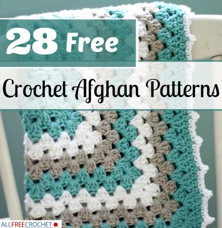 28 free crochet afghan patterns | allfreecrochet.com lrudlek