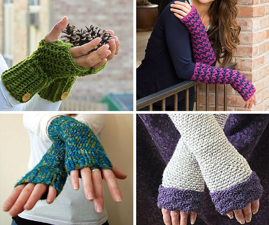 47 incredible crochet fingerless gloves | allfreecrochet.com vxseujd