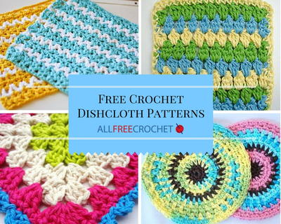 51 free crochet dishcloth patterns ogbvvfw