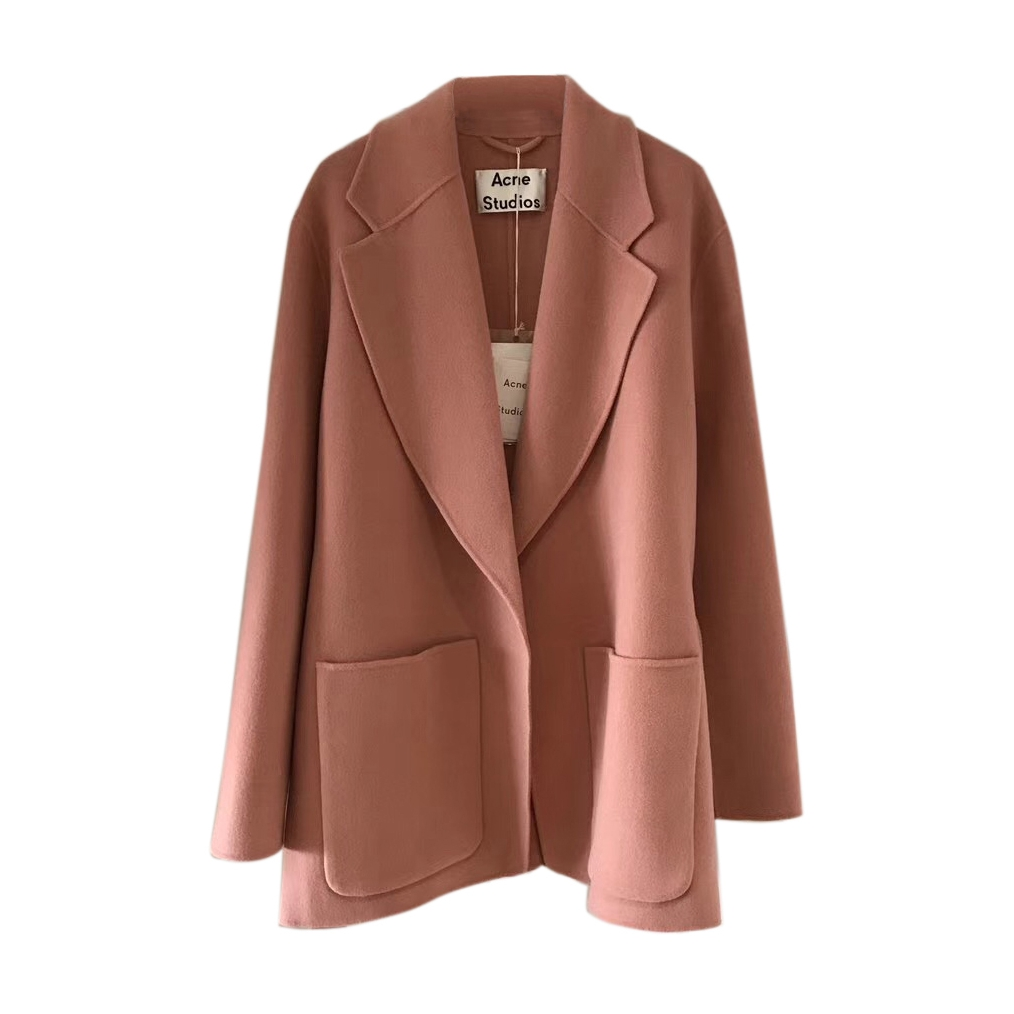 acne studios lilo wool u0026 cashmere coat bwbreiv