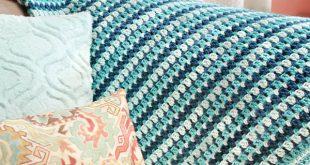 afghan patterns sea glass crochet afghan pattern | www.petalstopicots.com | #crochet #afghan spdyrfv