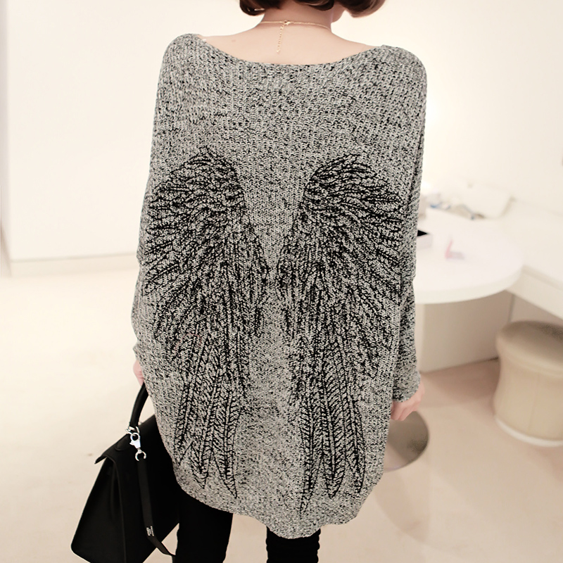 angel wing loose long sweater knitwear from showmall on storenvy vvjeslw