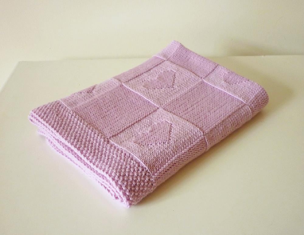 Finding Many Unique Baby Blanket Knitting Patterns ...