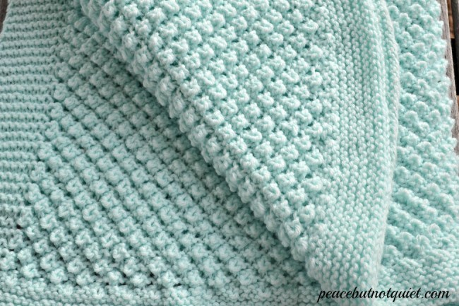 Baby Blanket Knitting Patterns the popcorn baby blanket -- one of our easy knitting patterns that make cpccmsf