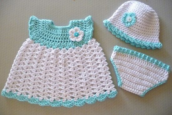 baby girl dress hat diaper cover free crochet patterns hcsgioh