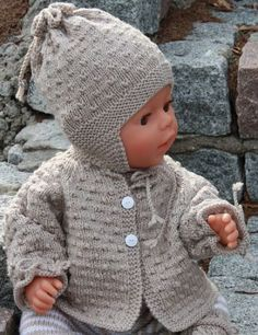 baby knitting patterns free baby hat and sweater