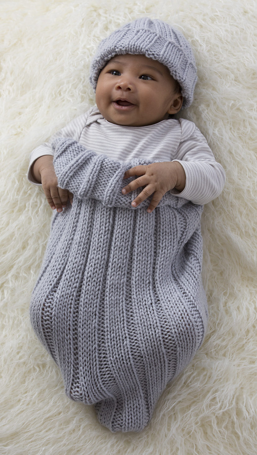 baby knitting patterns free knitting pattern for comfy baby cocoon and cap mdtcrwl