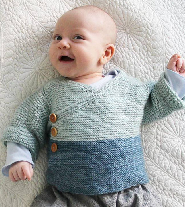 baby knitting patterns free knitting pattern for easy baby kimono djwhppl