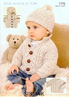 baby knitting patterns sirdar snuggly dk baby knitting pattern 1776 by sirdar gkjudko