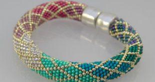 bead crochet with single stitch ombre bracelet kit bead crochet bead crochet tsgttdv