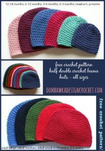 beanie crochet pattern free crochet pattern half double crochet beanie rtxenle