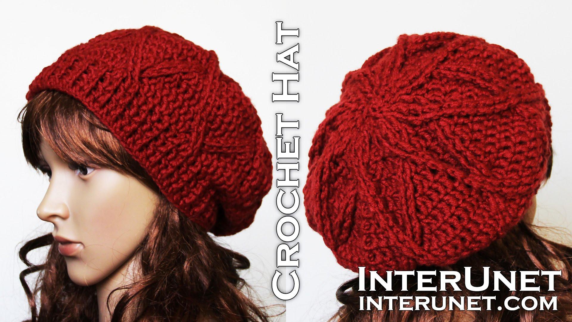 beanie crochet pattern how to crochet a hat - slouchy hat crochet pattern - youtube wovdmcc