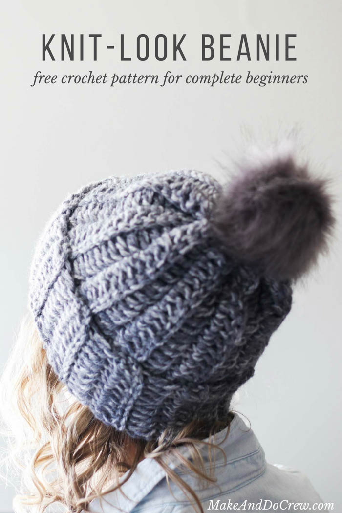 beanie crochet pattern learn how to make a crochet hat in this free beginner ribbed beanie txqjteg