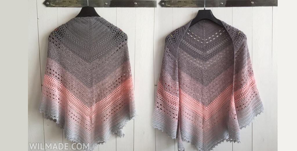 bella vita shawl - free crochet shawl pattern zgbecnp