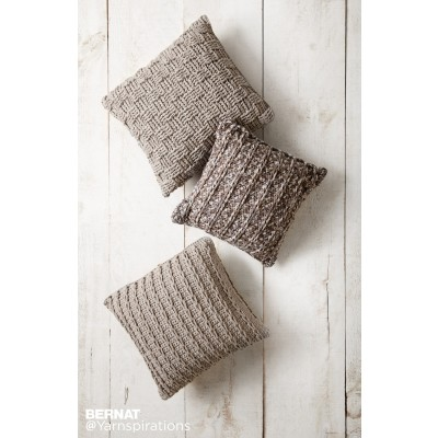bernat patterns crochet pillow trio ozqeqxc