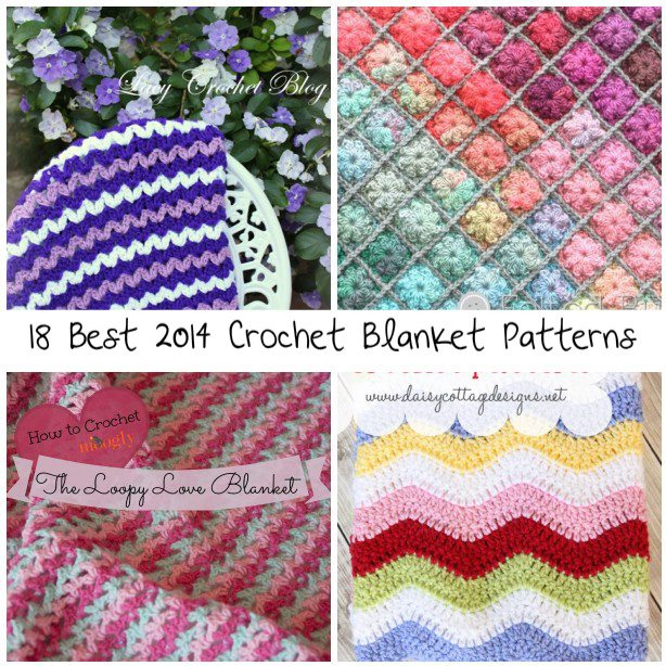 Best Crochet Blanket Patterns 18 best crochet blanket patterns qtwehux