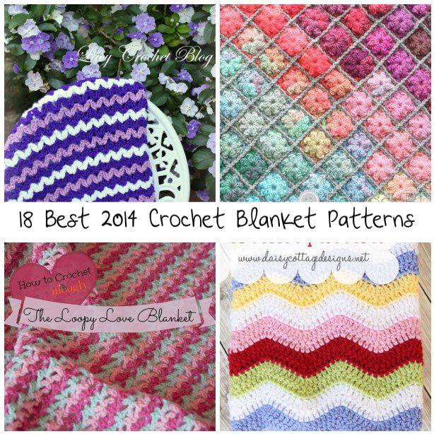 Best Crochet Blanket Patterns 18 best crochet blanket patterns qtwehux