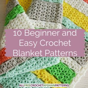 Best Crochet Blanket Patterns blog - beginner and easy crochet afghan kpuaruh