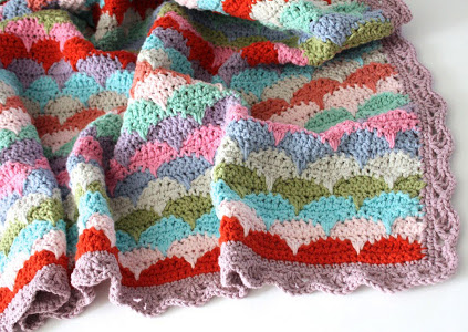 Best Crochet Blanket Patterns clamshell crochet afghan hqjbhyf