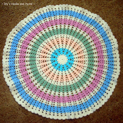 Best Crochet Blanket Patterns ferris wheel baby blanket zdthybb