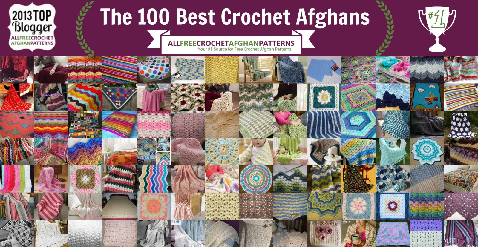 Best Crochet Blanket Patterns the 100 best crochet afghans ever: crochet baby blankets, ripple crochet  patterns, rkuvqtw