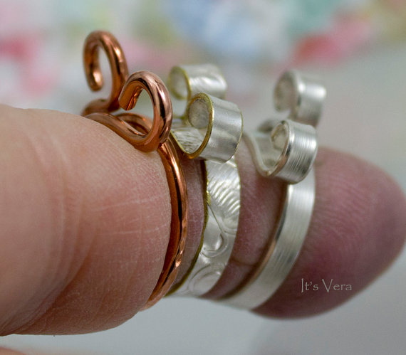 Best Knitting Accessories the original 2 loop stranded knitting ring, knitting ring, best crochet  ring, tqsrems