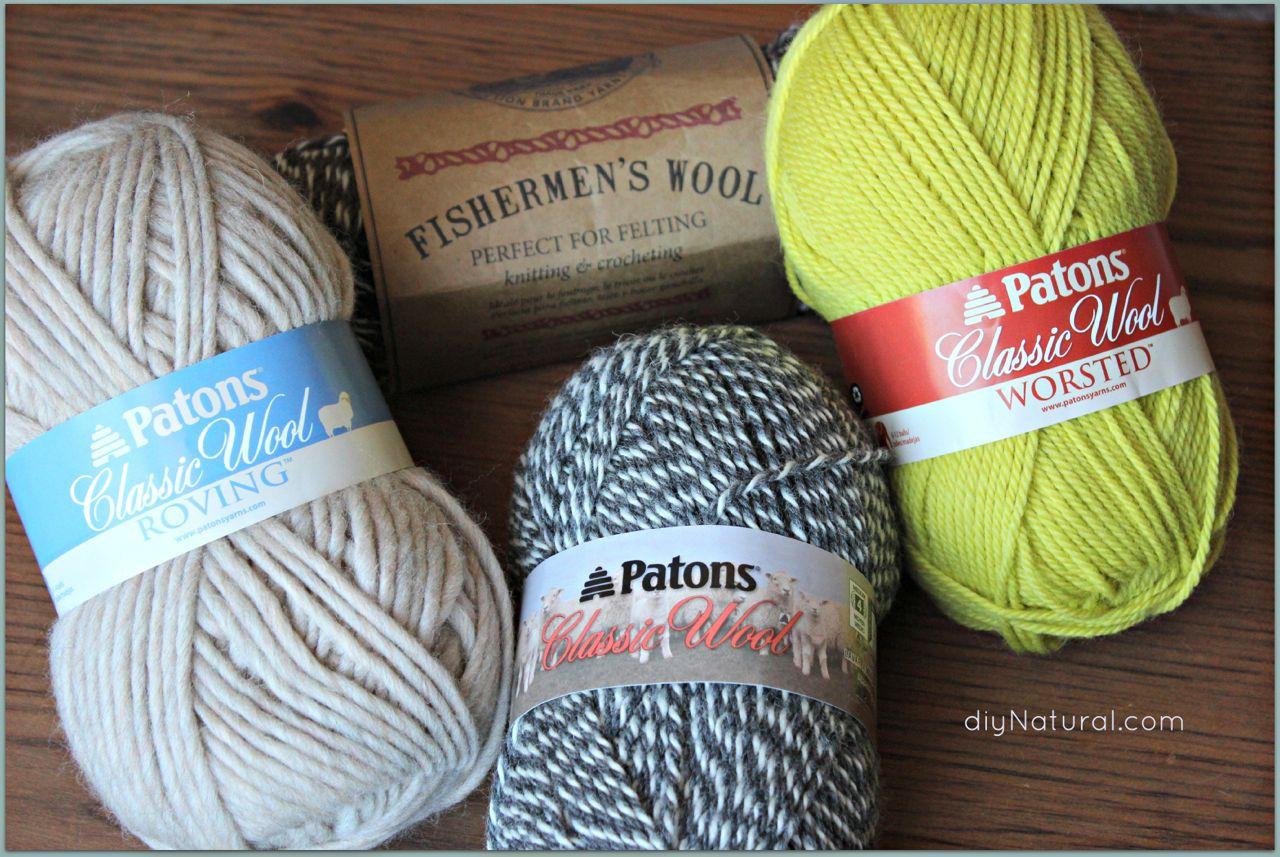 Best Wool Yarn how to make wool dryer balls (felted yarn) ruavlic