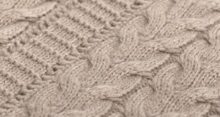 brown cable knit woollen fabric twmsmmj