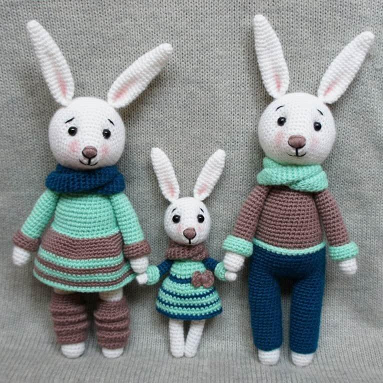 Funny bunny | free amigurumi and crochet patterns | lilleliis | 766x766