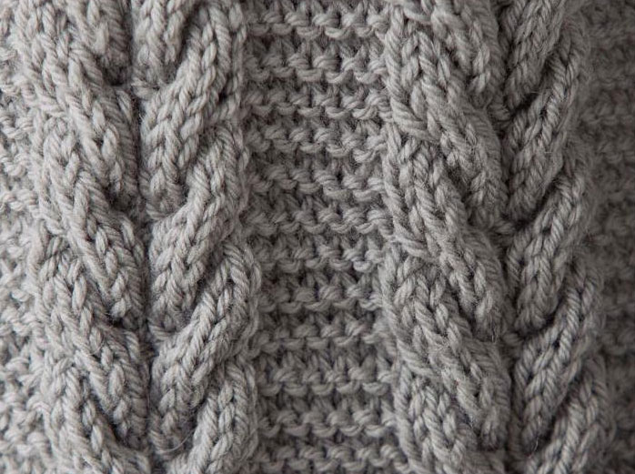 cable knit cable-knitting-stitch libjbrk