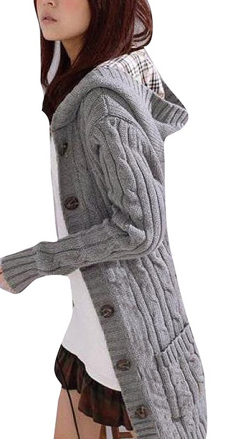 cable knit cardigan minetom womens cable knitted womens